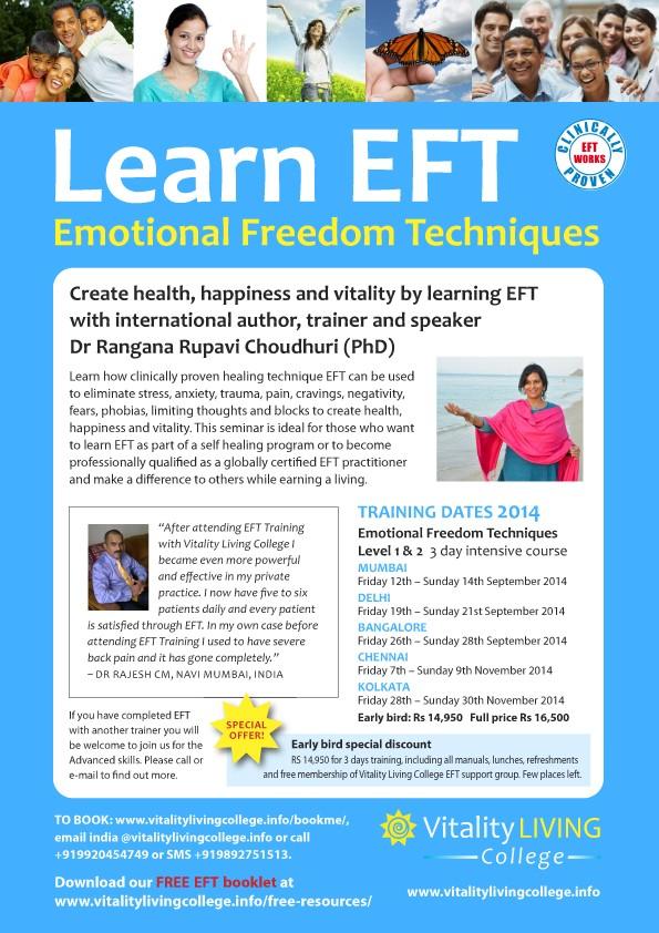EFT Training Mumbai Delhi Bangalore Kolkata Chennai
