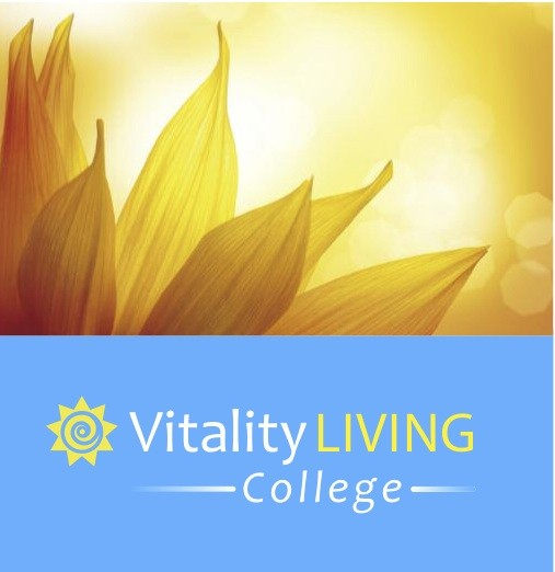 Vitality Living College Sunflower Logo