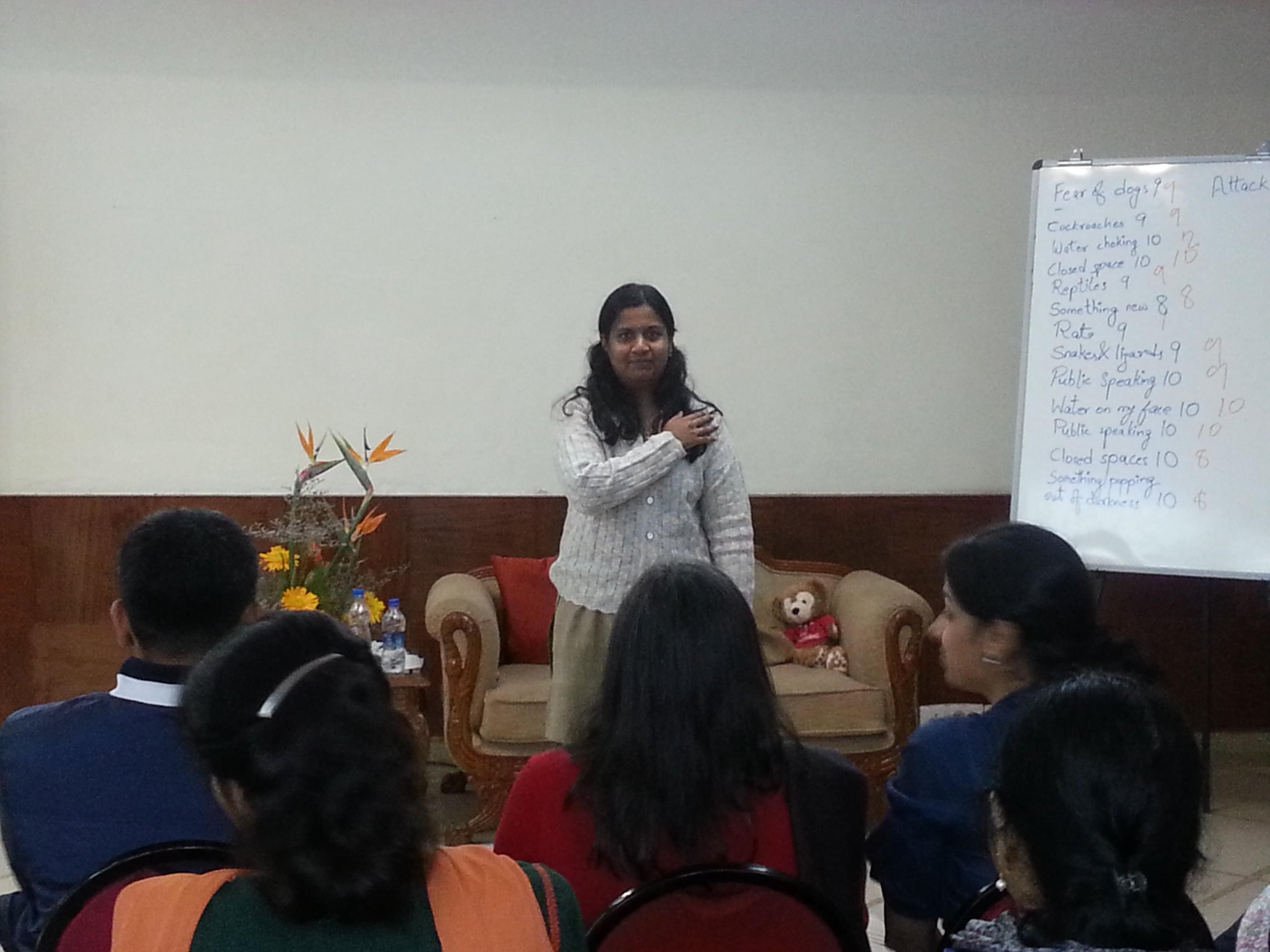 Uma public speaking