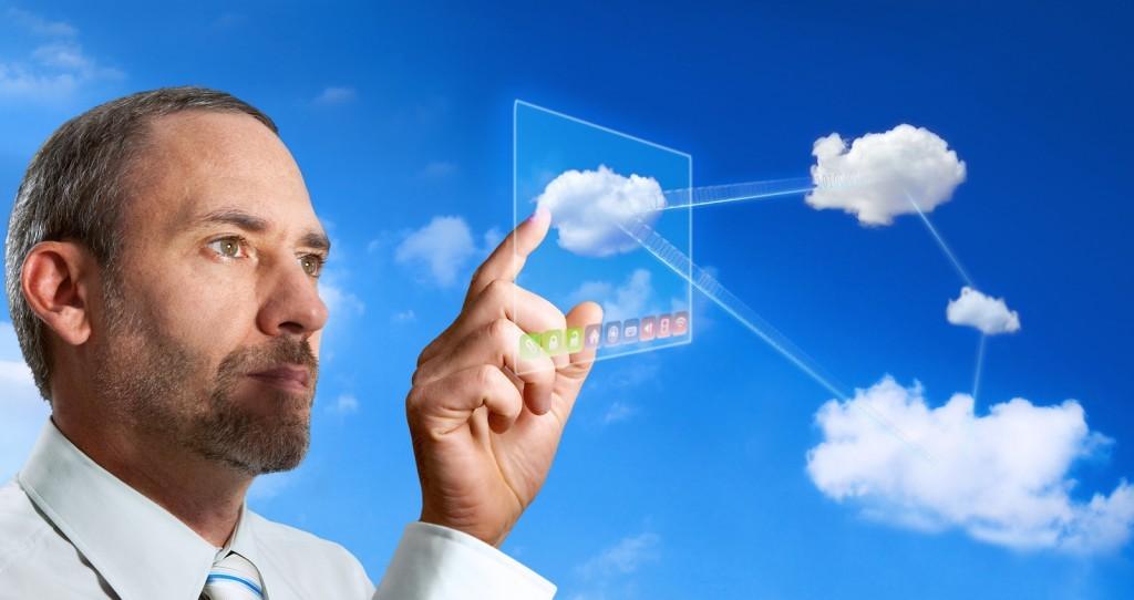 Futuristic Cloud Computer