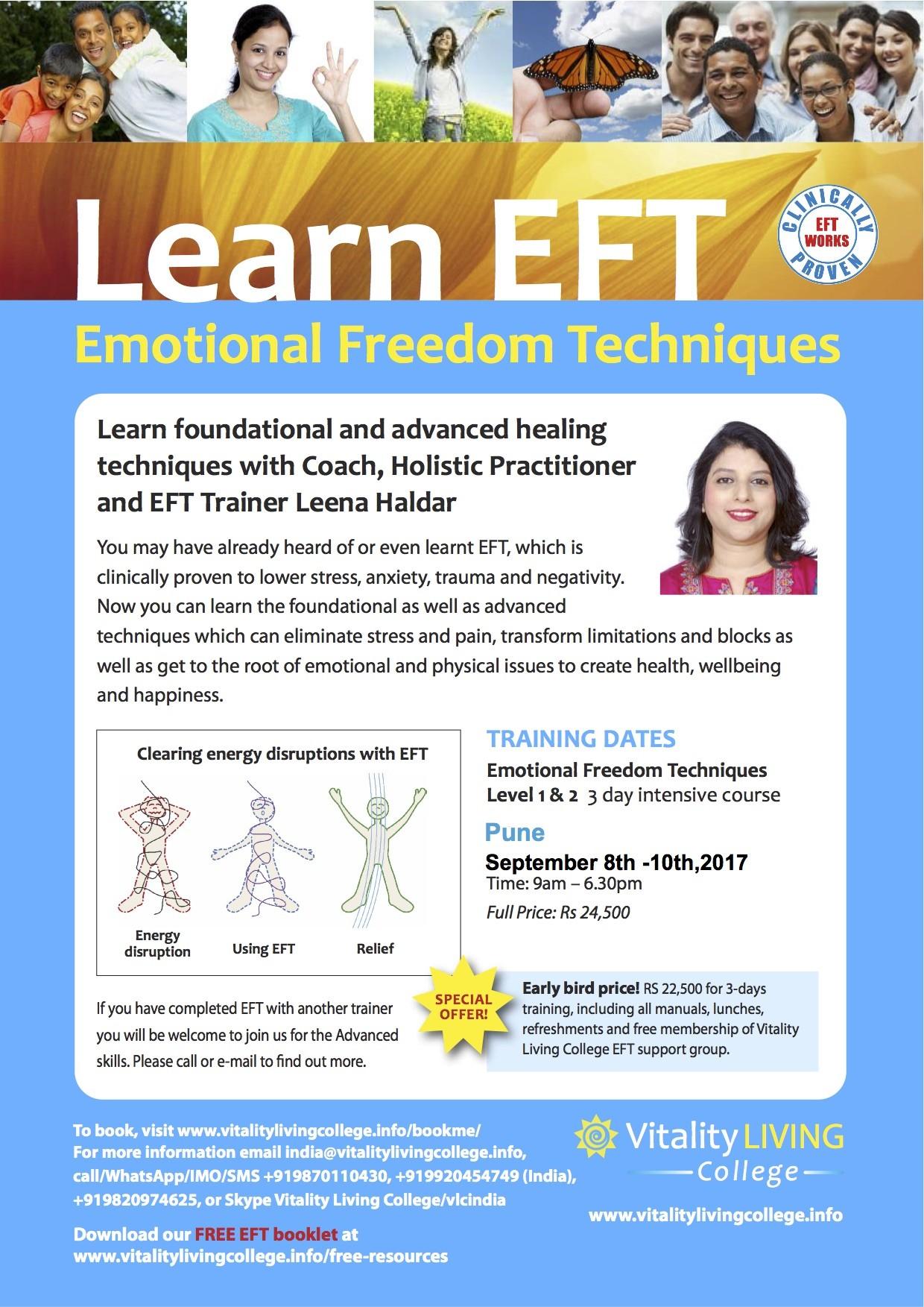 EFT poster Leena A4 September Pune