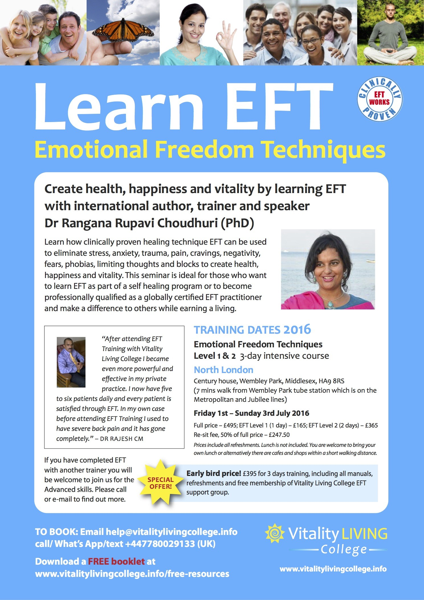 Learn EFT poster A4 (UK)