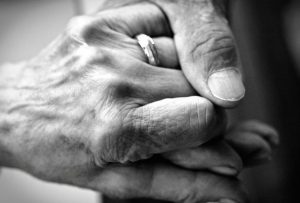 Intimacy - hands together