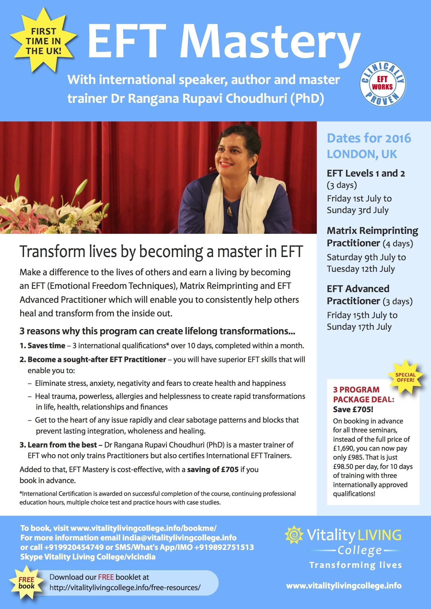 EFT mastery UK