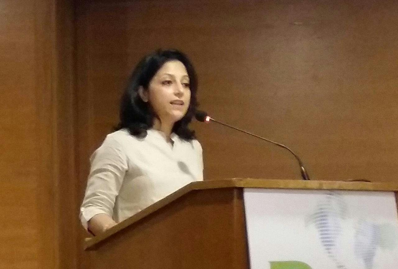 Dr Shilpa speaking