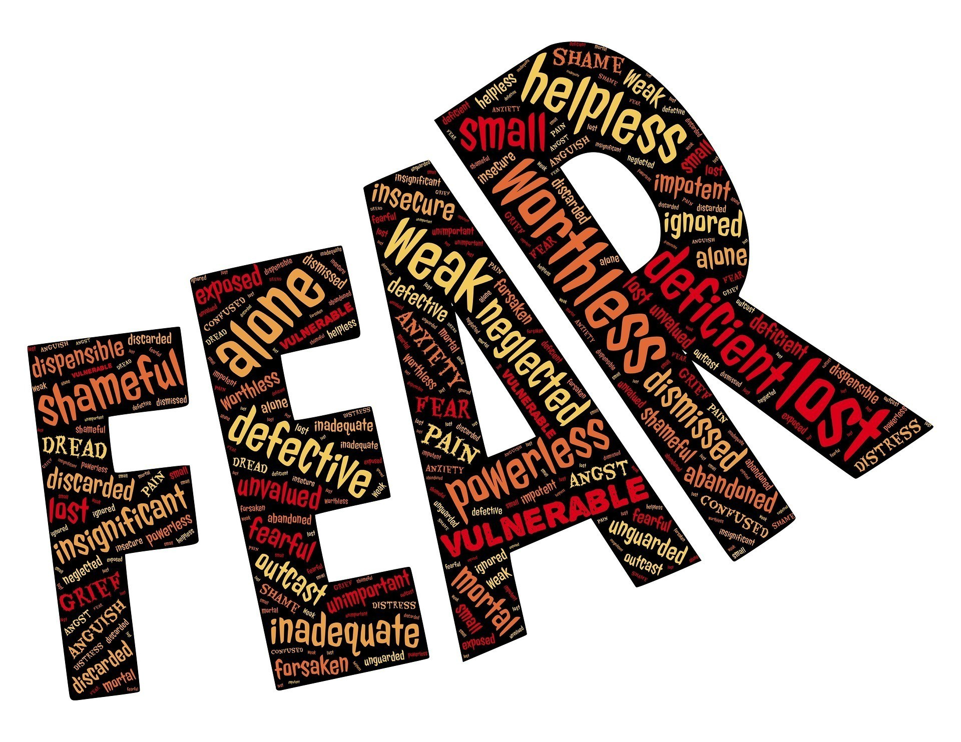 EFT tapping for fear