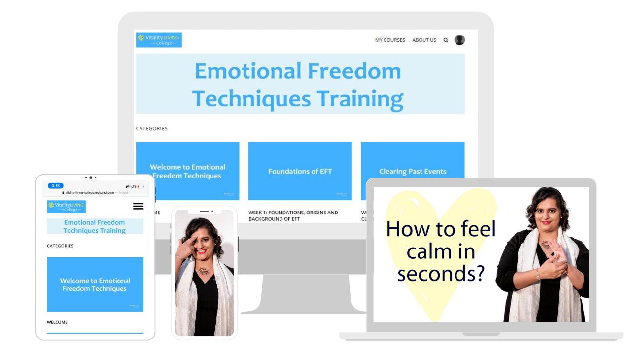 EFT Tapping Training Portal